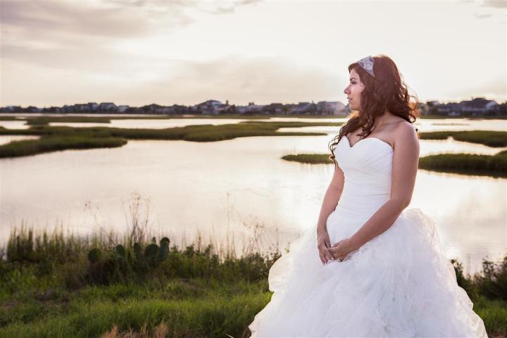 Galveston Wedding Photographer, Houston Bridals, Texas, Beach, Ashton Villa, Strapless, Sunset, Justin Alexander