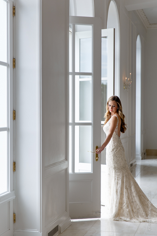 C. Baron Photography, Houston Wedding Photographer, Chateau Cocomar, elegant, classic, ballroom, chandelier, fireplace, fall, statue