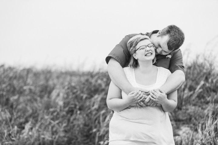 C. Baron Photography, Galveston Engagment Photographer, Houston Engagement Photographer, Galveston Texas, beach, sand, waves, seagulls, sand dune, garden, rainy