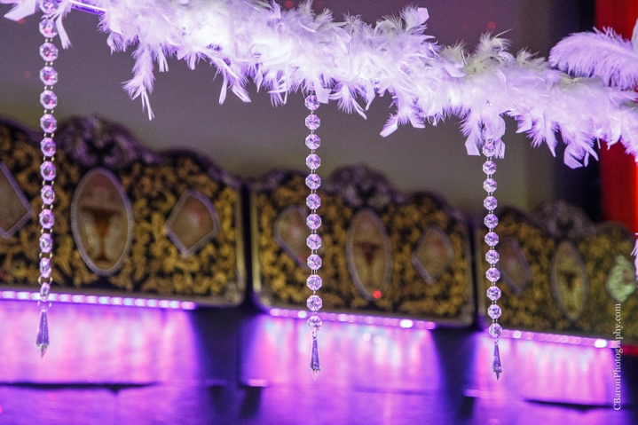 C. Baron Photography, Houston Wedding Photography, Majestic Metro, downtown Houston, gold, Gatsby, bride, groom, 20's, Hotel Icon, old movie theater, royals royce, feathers, beads