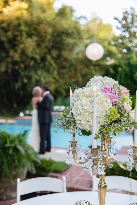 C. Baron Photography, backyard, Beaumont Wedding Photographer, Calder Place, candleabra, candles, elegant, historic neighborhood, Houston Wedding Photographer, lace, magnolia, oak tree, paper lanterns, pink, southern, spring, Texas