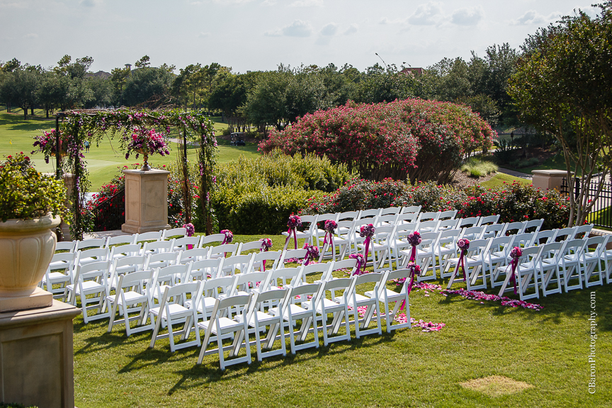 Outdoor Wedding At Houston Oaks Country Club: Sarah + Michael = Married!