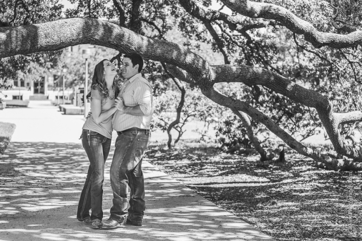 C. Baron Photography, Houston Engagement Photographer, College Station, Texas, Aggie, TAMU, 2014, Century Tree, couple, Dixie Chicken, dog, boots