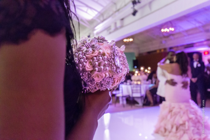 Baby's breath; Black Tie; Blush gown; Brooch Bouquet; Brooch Boutin boutonnière; C. Baron Photography; Clutch purse; Downtown Houston; Evening; First look. Spring; Houston Wedding PHotographer; Swanky Photobooth; Texas; The Sam Houston Hotel; Veranda; blush; strapless;