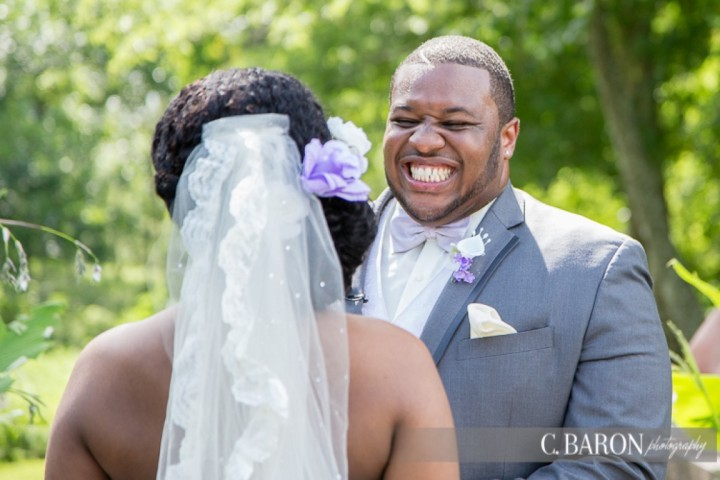 African-American; Brookshire; C. Baron Photography; Houston Wedding Photographer; Lavender; Lilac; Pecan Springs; Texas; Wedding; outdoor;