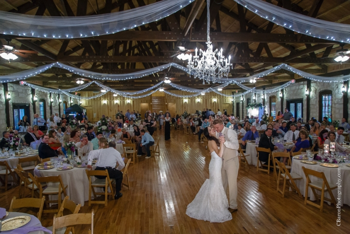 Bride; Couple; Cystal Springs; Groom; Houston Wedding Photographer; Magnolia; Purple; Springs Events; Texas; Wedding; Woodlands Wedding PHotographer; candles; crystal chandeliers; elegant; lavendar; lilac; outdoor ceremony;