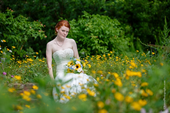 Aggies; Bridals; C. Baron Photography; Formals; Garden; Houston Wedding Photographer; Lace gown; Mercer; Spring; Strapless; Texas; Texas A&M; Woodlands Wedding PHotographer; flowers; gorgeous red hair; summer; sunflowers;