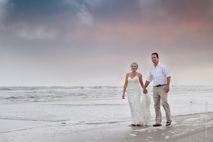Aqua; Beach House; Beach Photographer; Beach Wedding; Blue; Bolivar Peninsula; C. Baron Photography; Crystal Beach; Crystal Beach Weddings; Galveston County; Galveston Wedding Photographer; Houston Wedding Photographer; Paper flowers; Tropical theme; Turquoise; barefoot; beach; brooch; coral; ferry; fireworks; gulf; lace gown; ocean; sand; sand dunes; sandals; sea; seashells; sunglasses; updo; waves; wayfarers;