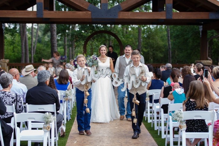 Burlap; C. Baron Photography; Chandelier; Crystal Spings; Groom; Houston Wedding Photographer; Lace; Magnolia; Outdoor Ceremony; Summer; Texas; The Springs Events; Wedding; baby's breath; bride; couple; cowboy boots; purple; reception; woodlands wedding photographer;