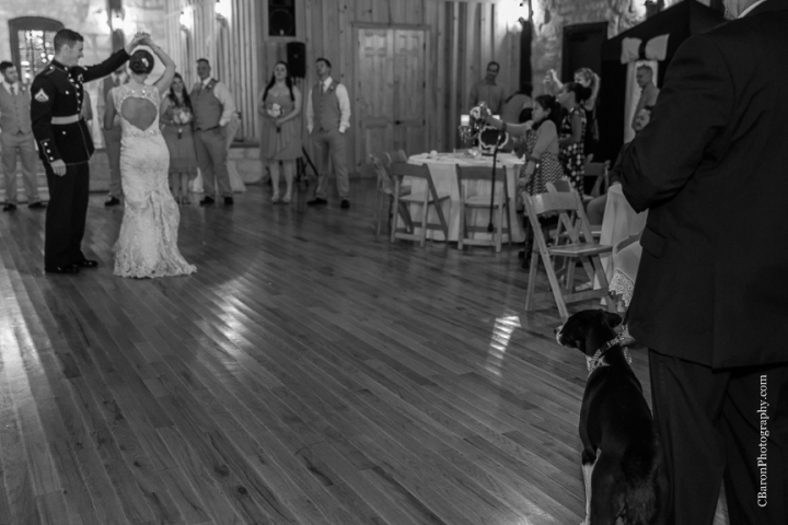Border Collie; Bride; C. Baron Photography; Couple; Crystal Springs; Dress Blues; Groom; Houston Wedding Photographer; Indoor ceremony; Keyhole back; Marines; Northall; Pink; Raining; Shabby Chic; Spring Wedding Photographer; Swanky Photobooth; USMC; Vintage; Woodlands Wedding Photographer; aqua; bubbles; burlap; lace; pennants; shoe game; summer;