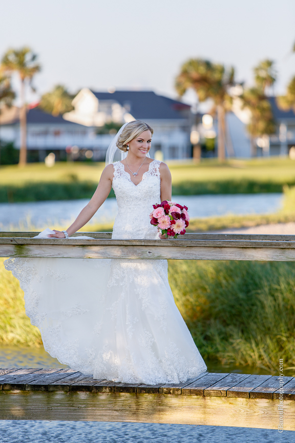 Bridals; C. Baron Photography; Downtown Blooms; Galveston Country Club; Galveston Wedding Photographer; Houston Wedding Photographer; Texas; fall; sunset;