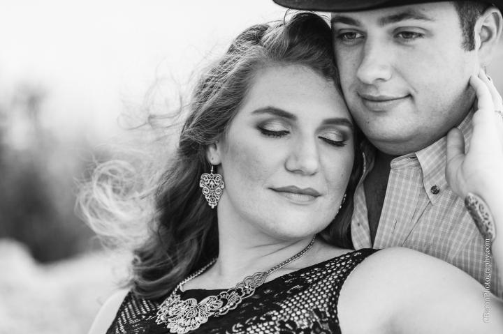 C. Baron Photography; Galveston; Galveston Engagement Photographer; Houston Wedding PHotographer; Jean Jacket; Texas; couple; engagement session; mini-golf; outdoors; putt-putt; summer; tree;