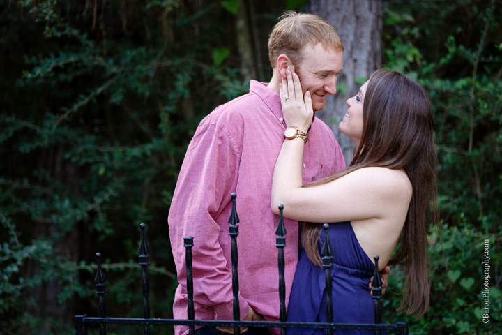 C. Baron Photography; Engagement; Houston Engagement photographer; couple; golden hour; nature; outdoors; sunset;