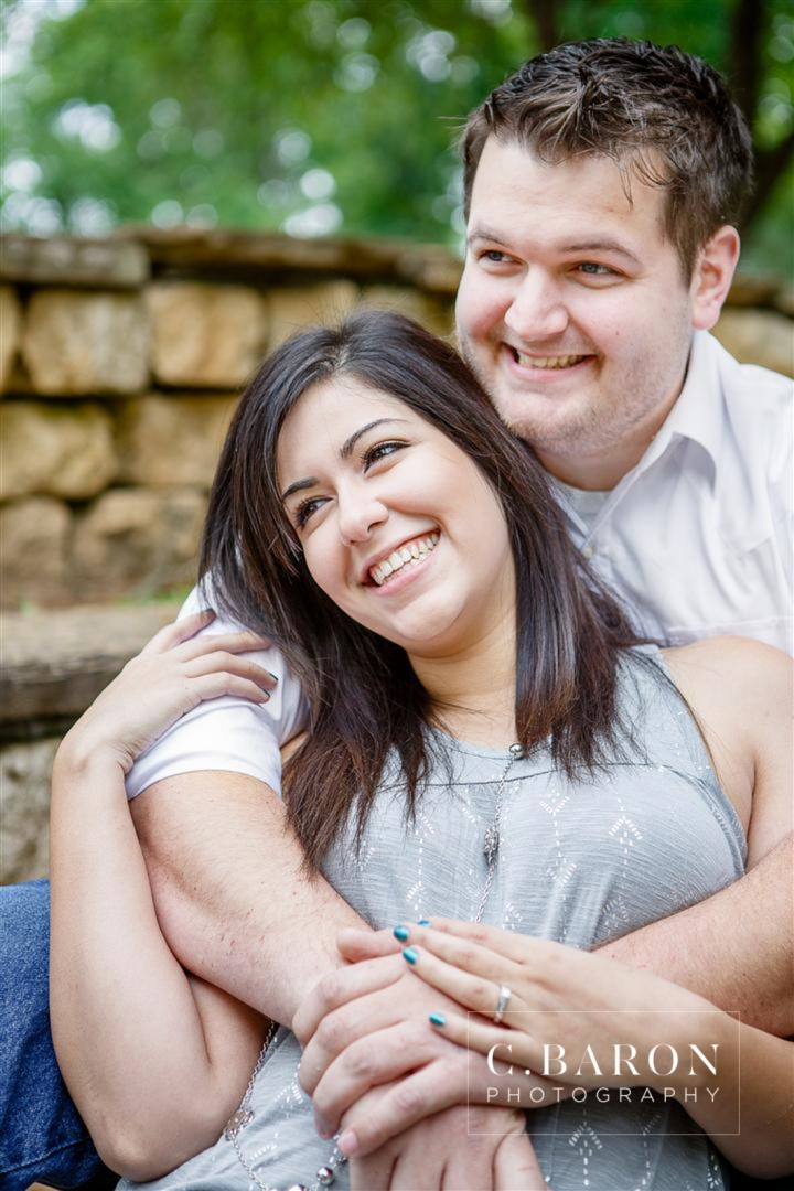 2013, April, C. Baron Photography, cloudy, Couple, Engagement, houston, Nature, outdoor, Park, Theis Attaway, Tomball, Woods