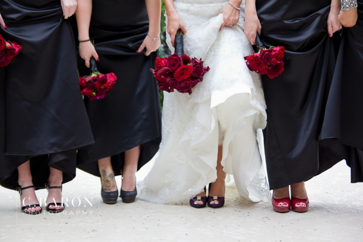 Black; Bride; February; Groom; Lounge; Red; Texas; The Woodlands; Wedding; Woodlands Country Club; Woodlands United Methodist Church; couple; marriage; rose petals;