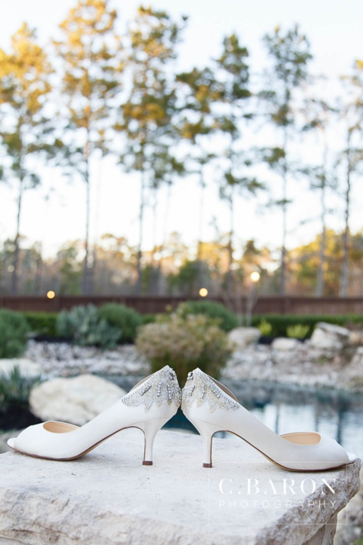 Amber Springs; Austin Wedding Photographer; Beaumont Wedding Photographer; C. Baron PHotography; Christmas; College Station wedding Photographer; Conroe Wedding Photograher; Conroe Wedding Photographer; Galveston Wedding Photographer; Houston Wedding Photographer; Pine cones; Pines; Stonehall; Texas; Winter; Woodlands Wedding Photographer; candlelight; christmas lights; couple; evening; weddings;