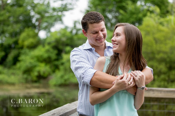C. Baron Photography; Engagement Session; Houston Wedding Photographer; Nature; Park; Spring Wedding Photographer; Texas; Woodlands Wedding Photographer; lake; pond;