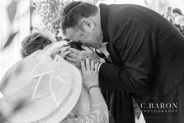 C. Baron Photography; Houston Wedding Photography; Ketubah; Orthodox Jewish wedding ceremony; Outdoor ceremony Chuppah; Sugar Creek Country Club; Sugar Land; Sugarland; Texas; Traditional; summer;