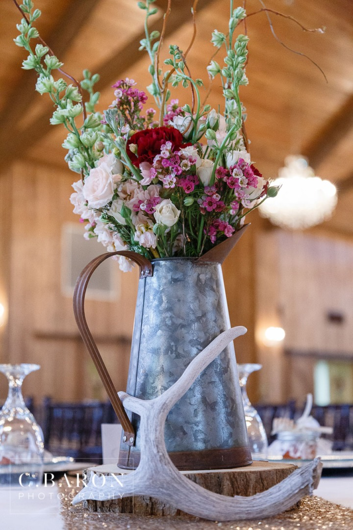 C. Baron Photography; Carriage House; Conroe Wedding Photographer; Gold; Indoor ceremony; Lace gown; Orchid; Rainy Day; Sparkler Leave; Spring; Superheros; Texas; antlers; chandelier. barn; houston; jeans; lavender; purple; rustic glam;