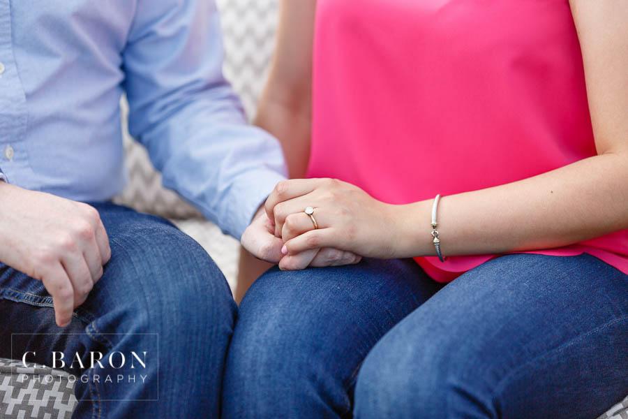 Galveston Engagement Photographer; C. Baron Photography; Houston Engagement Photographer;