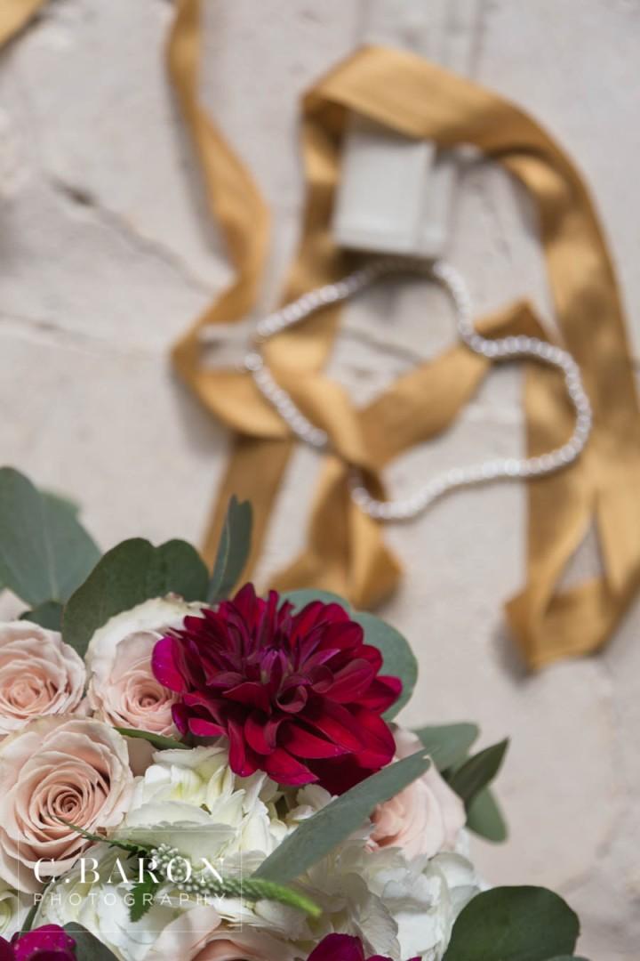 Burgandy; C. Baron Photography; Houston wedding Photographer; Magnolia Texas; Maroon; Merlot; Outdoor Ceremony; Springs Events; Texas Weddings; The Springs in Magnolia; Winter Wedding;