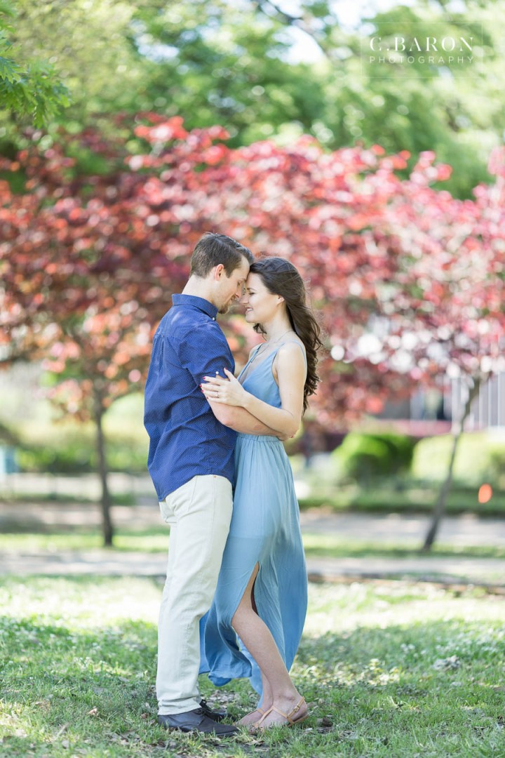 C. Baron Photography; Engagement Photography; Hermann Park; Houston wedding Photographer; Outdoor session; Spring; outdoors;