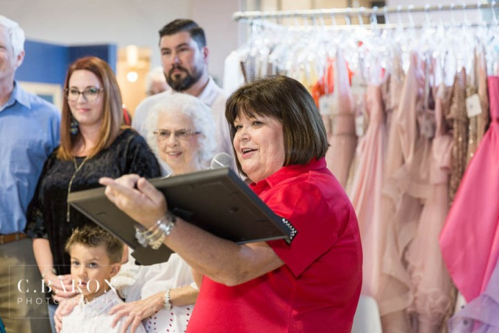 Ribbon Cutting for the grand opening of Something Blue Bridal &