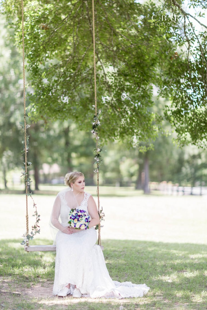 Pretty bridals at the Carriage House in Conroe Texas outside of
