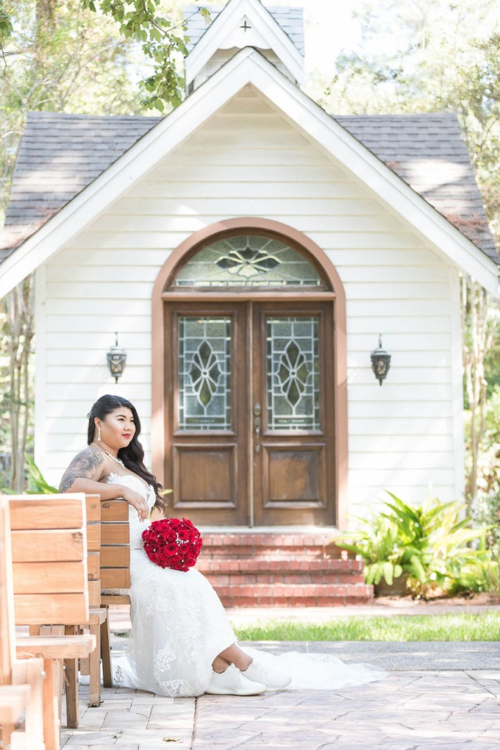 Pretty summer bridal session at Northwest Conference center in C