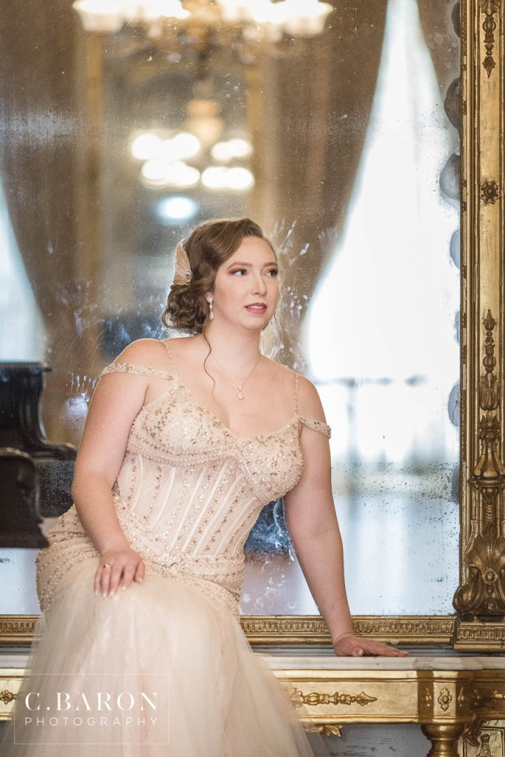 Beautiful Bridals at Ashton Villa in Galveston Texas with Gatsby
