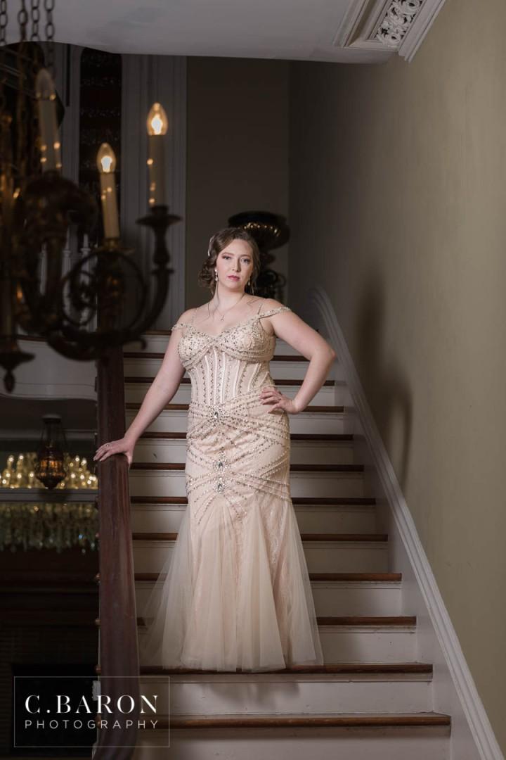 Beautiful Bridals at Ashton Villa in Galveston Texas with Gatsby